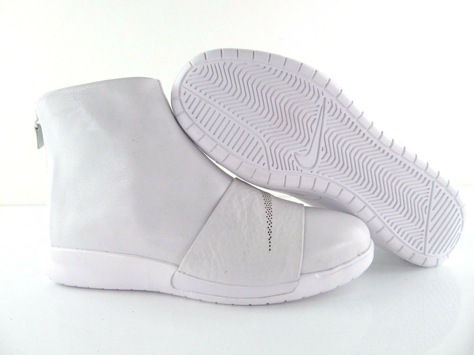 Nike Triple wmns Benassi Boot lux Triple Nike Blanco Leather nikelab New us_5.5 61b8bb