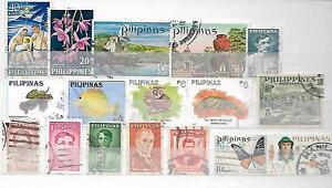 Filippine-Pinoy-pilipinas-alcuni-vecchi-francobolli-con-difetti-16200716