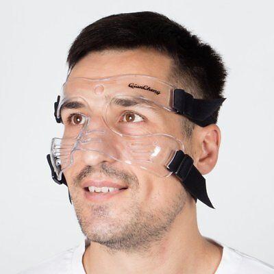 Basketball Face Mask Broken Nose Guard Soccer Protector Protective Sport Shield