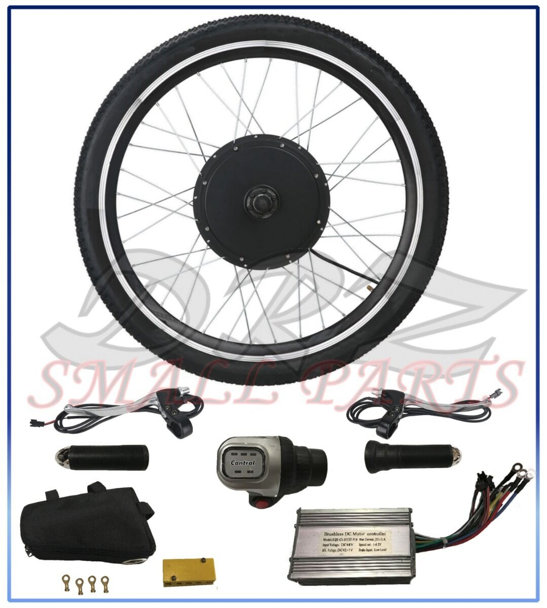 36V 500W Electric Bicycle Motor Conversion Kit 26  Ebike Cycling Front Wheel Hub