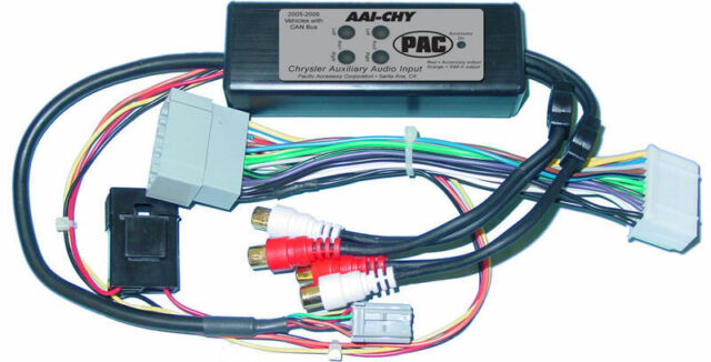 PAC AAI-CHY Dual Auxiliary Audio Input For 2005 Chrysler Vehicles