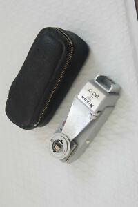 Nikon F BC-7 Shoe Mount Flash Unit with Original Case