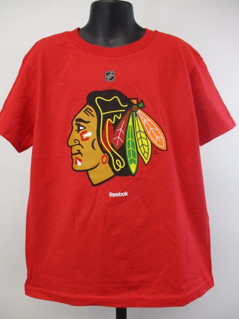 Neuf Minor Chicago Faille Chicago Minor Blackhawks Enfants TAILLE L 7 T-Shirt Rouge 0fd9e2