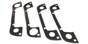 BMW E34 E36 Nice Door Handle Rubber Gasket Seals Set of 4 (51 218 122 442)