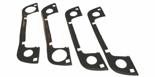 51 218 122 442 BMW E34 E36 Original Door Handle Rubber Gasket Seals Set of 4