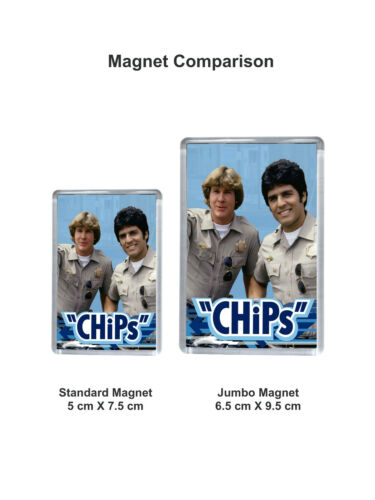 Chips Classic TV Series Keyrings and Magnets