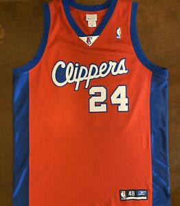 Details about Rare Vintage Reebok NBA Los Angeles Clippers Andre Miller Basketball Jersey