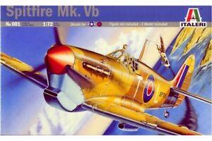 ITALERI-0001-1-72-Spitfire-Mk-Vb