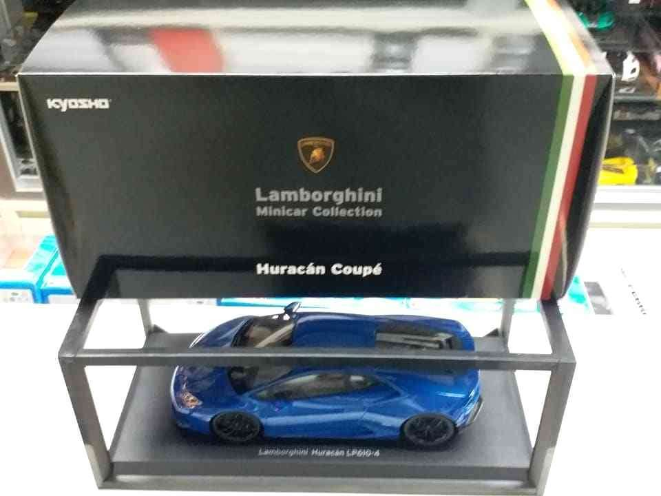 LAMBORGHINI HURACAN LP610-4 blueE  KYOSHO MODEL 1 18  Minicar Collection