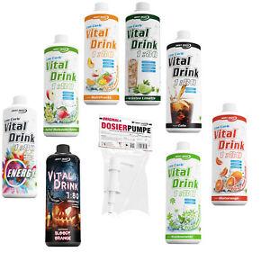 Best-Body-Nutrition-Low-Carb-Vital-Drink-1000-ml-Flasche-BBN-Dosierpumpe