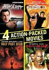 4 Action Packed Movies Collection 0014381856521 With Steven Seagal DVD Region 1