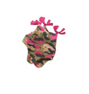 Healthtex Toddler Girl Fleece Peruvian Pink//Green Camo Hat One Size BABY SHOWER