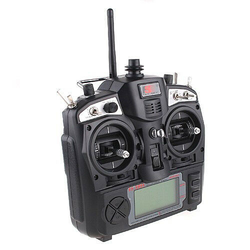 FLYSKY FS-TH9X 2.4G 9CH RADIO CONTROL TRANSMITTER & RECEIVER RC HELICOPTER P0T6