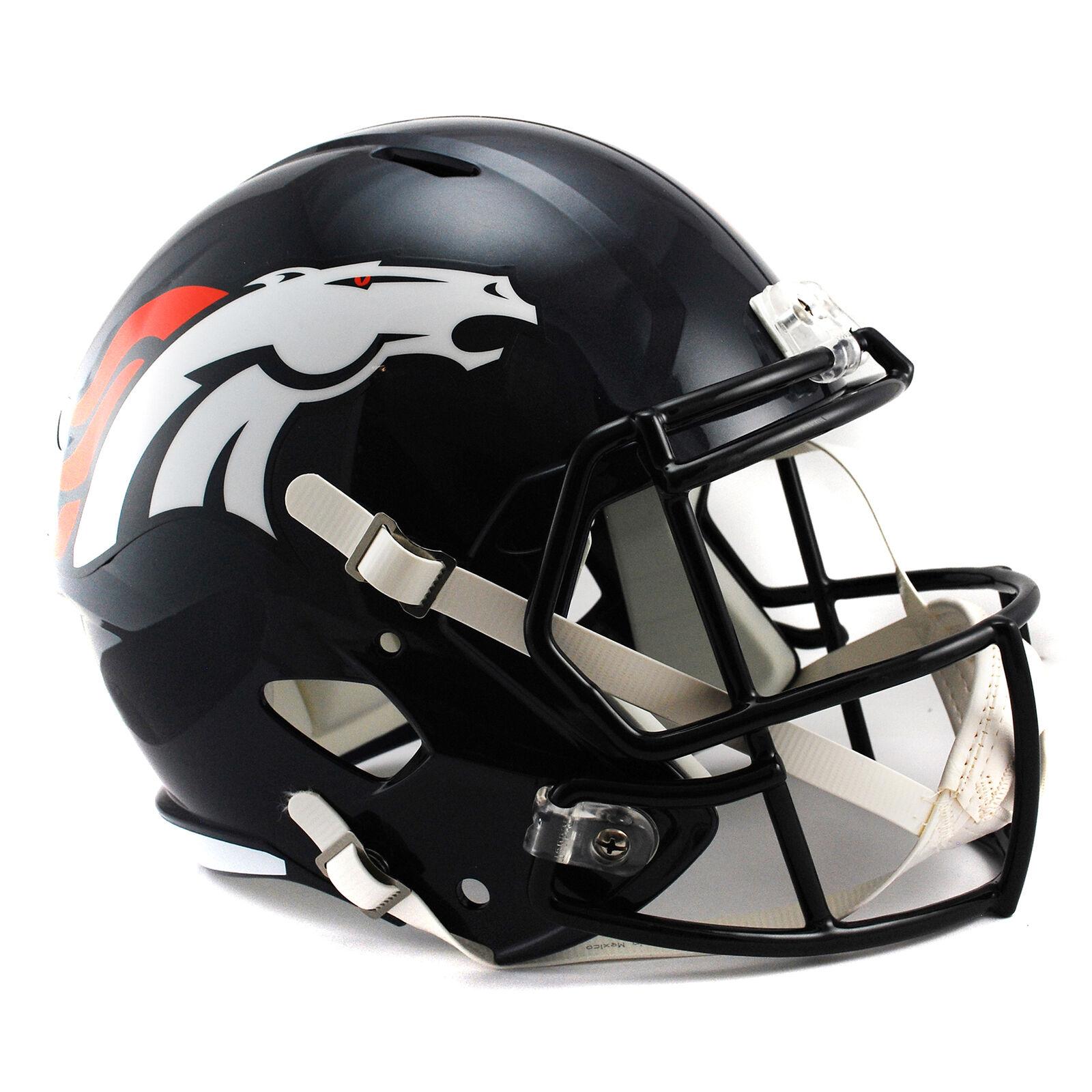 NFL Denver Broncos Broncos Broncos Speed Replik Football Helm Fan Artikel Unisex Fanatics 20fb5a