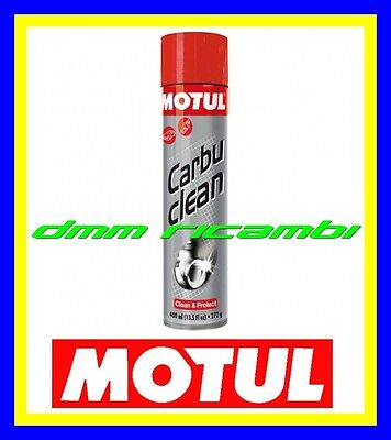 Pulitore Detergente Carburatore MOTUL Carbu Clean Moto Cross Motard Scooter Auto