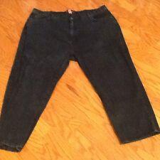Liz & Me Signature brand, Women's, Plus Size Petite, 28WP, 5 Pocket, Black Jeans