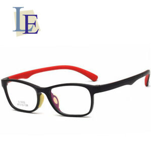 f1eab8a0c3 Image is loading LE-Square-Sports-Prescription-Glasses-Frame-TR90-Anti-