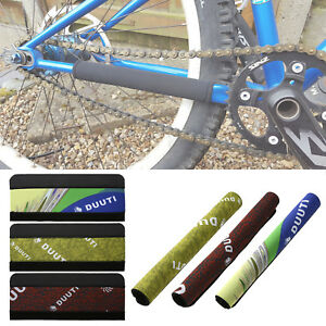 2X Cycling Bicycle Bike Frame Chain Stay Protector Guard Pad Cover Wrap Set