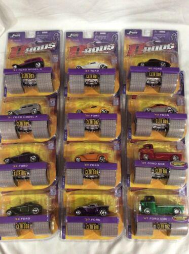 Jada Toys D-Rods D-Rod$ 2005 Wave 1 Choice Vehicle Ford '31 '32 '34 '37 '40 '47