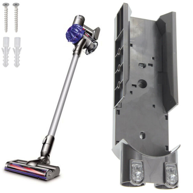 Image of: Absolute Wall Mount Bracket Charging Docking Station For Dyson V6 Animal Absolute Fluffy Ebay Wall Mount Bracket Charging Docking Station For Dyson V6 Animal