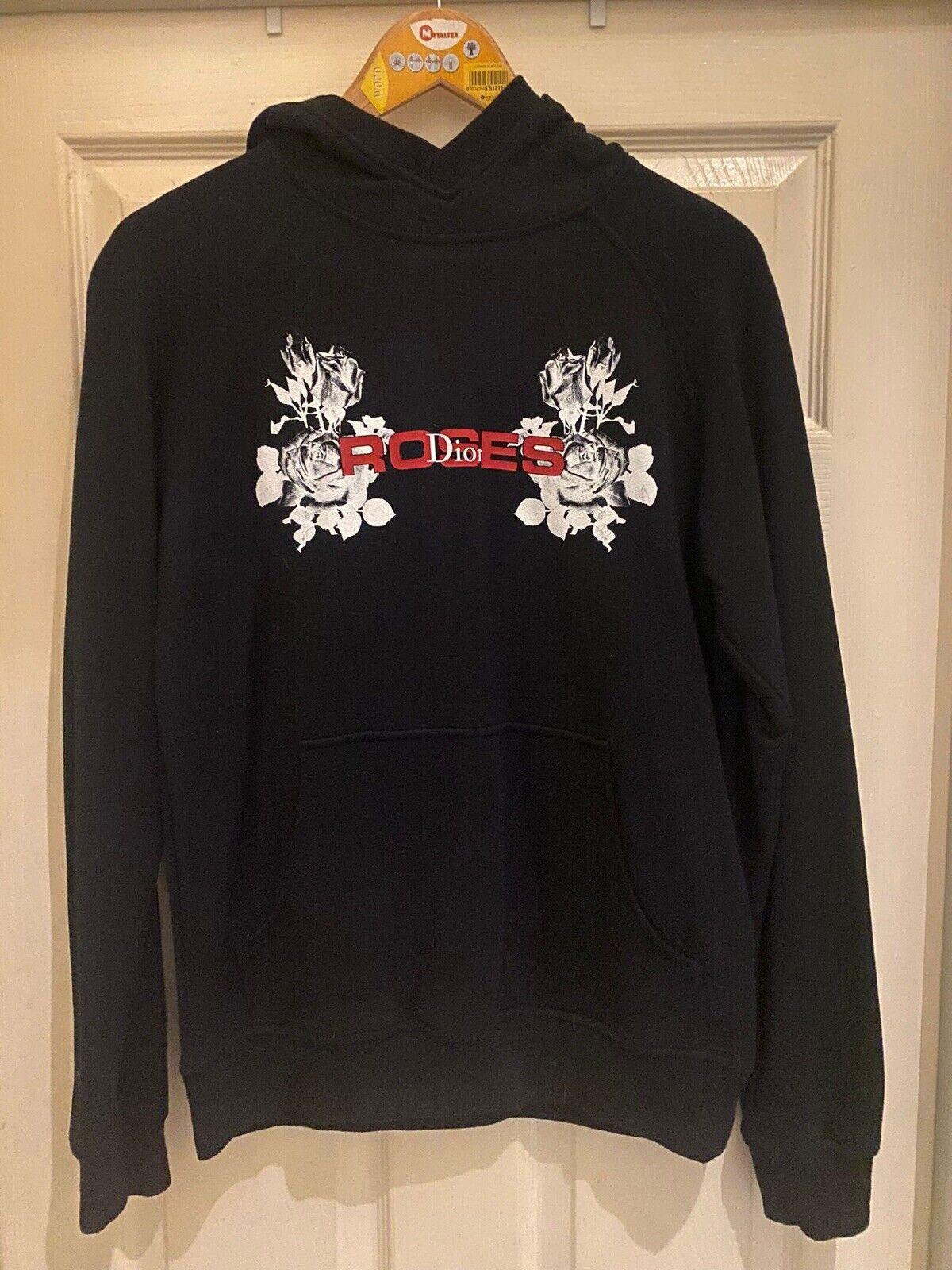 Genuine: Dior Roses SS18 Hooded Sweatshirt