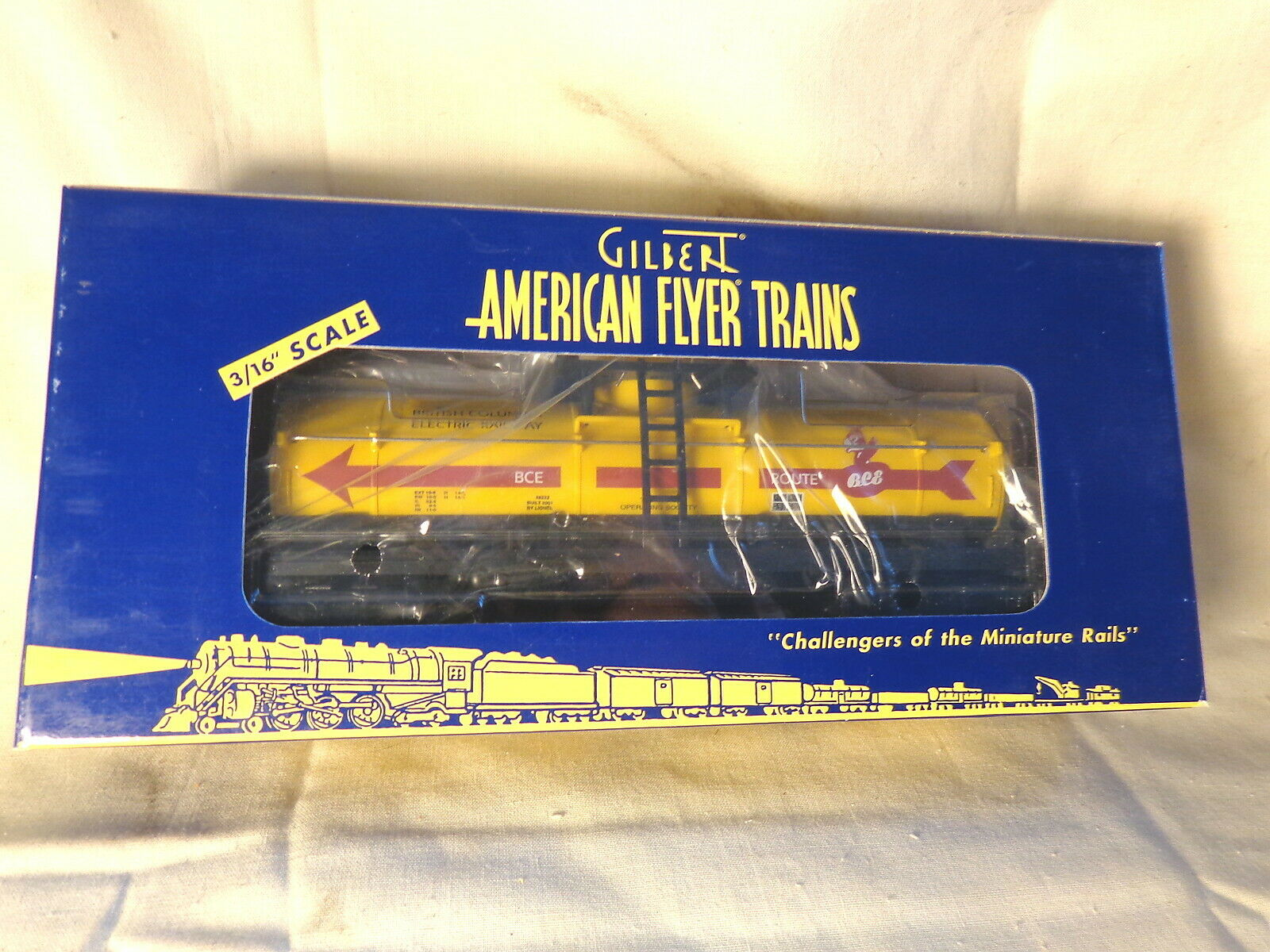 American Flyer 6-48222 A  F Tankcar TTOS     Boxed   S Gauge