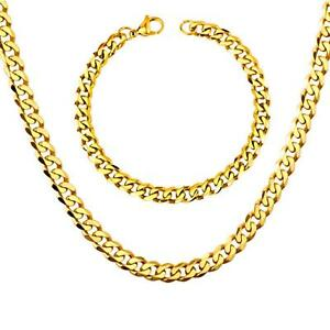 Fine Jewelry Fine Jewelry Sets Competent Set Curb Chain Bracelet 0 9/32in 999 24k Gold-plated Yellow Gold S2936
