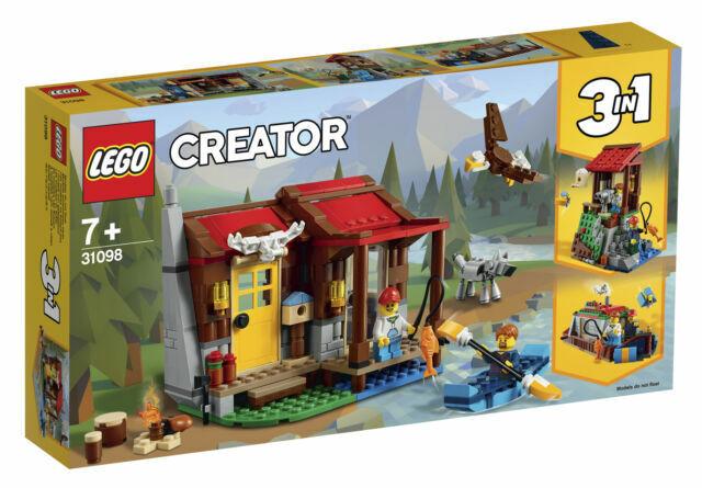 LEGO Creator: Outback Cabin (31098) - CREATER 3-IN-1 - BNIB