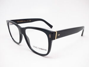 dbf1a2402f6 New Authentic Dolce   Gabbana DG 3305 501 Black   Gold Eyeglasses ...