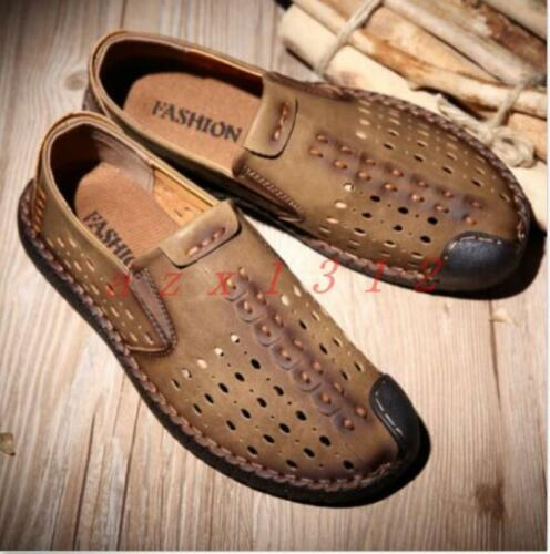 Hot Breathable Lace Up//Pull On Loafers Casual Mens Casual Walking Summer Shoes