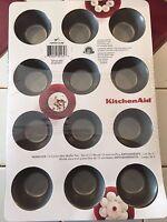 Kitchenaid Nonstick 12 Cavity Mini Muffin Pan Set Of 2 Free Shipping