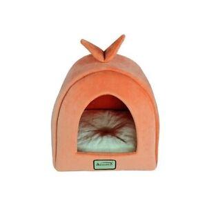 Armarkat Orange Ivory Soft Plush Velvet Cat Kitten Small