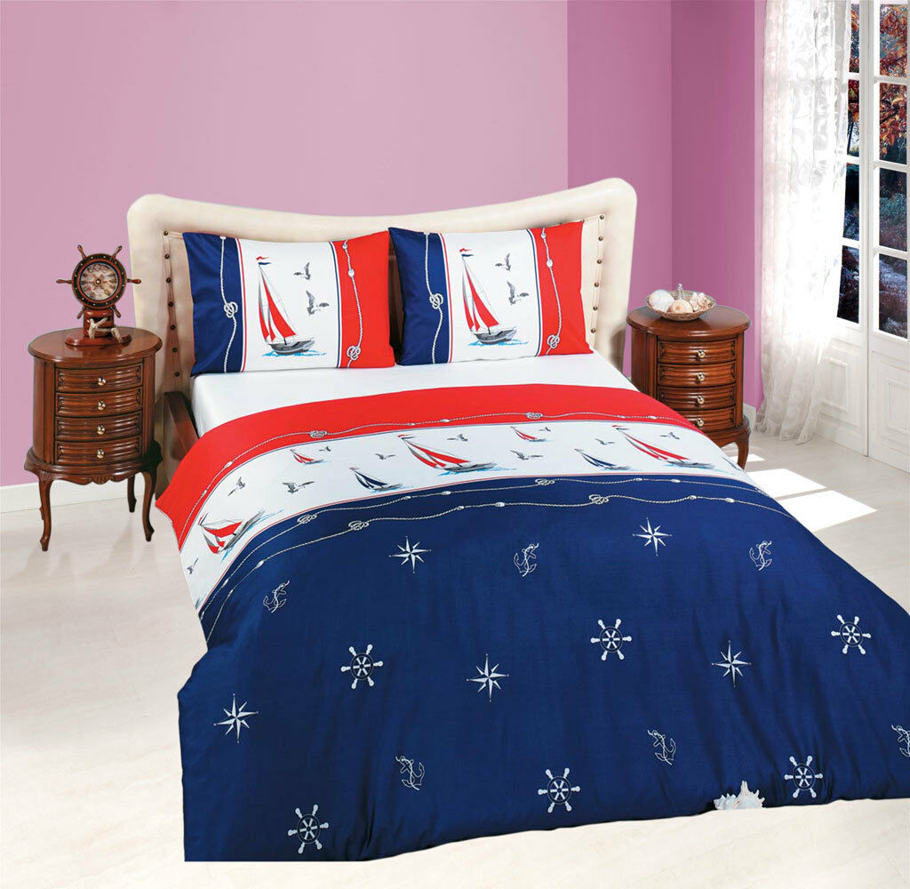 ThreeL 100% Cotton Bedding Duvet Cover Set  Ships