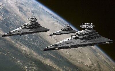 """Star wars war ship Game Fabric poster 21"""" x 13"""" Decor 43"""
