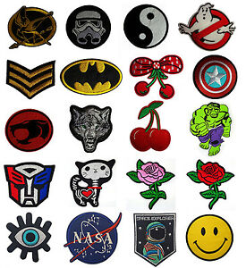 Embroidered-Iron-On-Sew-On-Patches-Badges-Transfers-Fancy-Dress