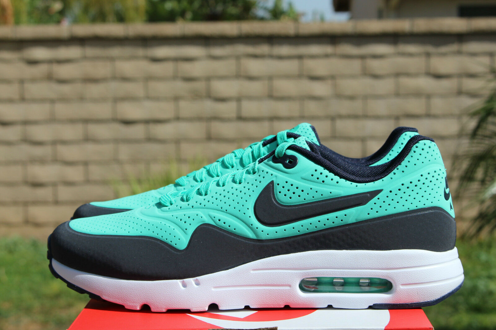 new products 066da 82e13 durable modeling NIKE AIR MAX 1 ULTRA MOIRE SZ 10.5 MENTHOL GREEN OBSIDIAN  BLUE WHITE 705297
