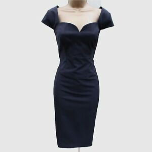 00dfe4e31a8932 Image is loading Ted-Baker-Black-NATIE-Fitted-Office-Occasion-Formal-