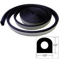 Taco Weather Seal - 10'l X 1/2w X 1/2h - Black