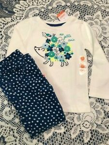 NWT Gymboree HAPPY BLUEBIRD Girls Size 4T 5T Corduroy Pants Tee Shirt Top OUTFIT