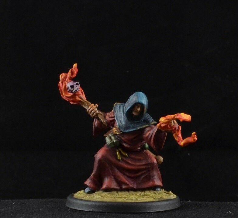 Painted Khalatine, Evil Cultist Reaper Miniatures Miniatures Miniatures D&D male mage d5cf8d