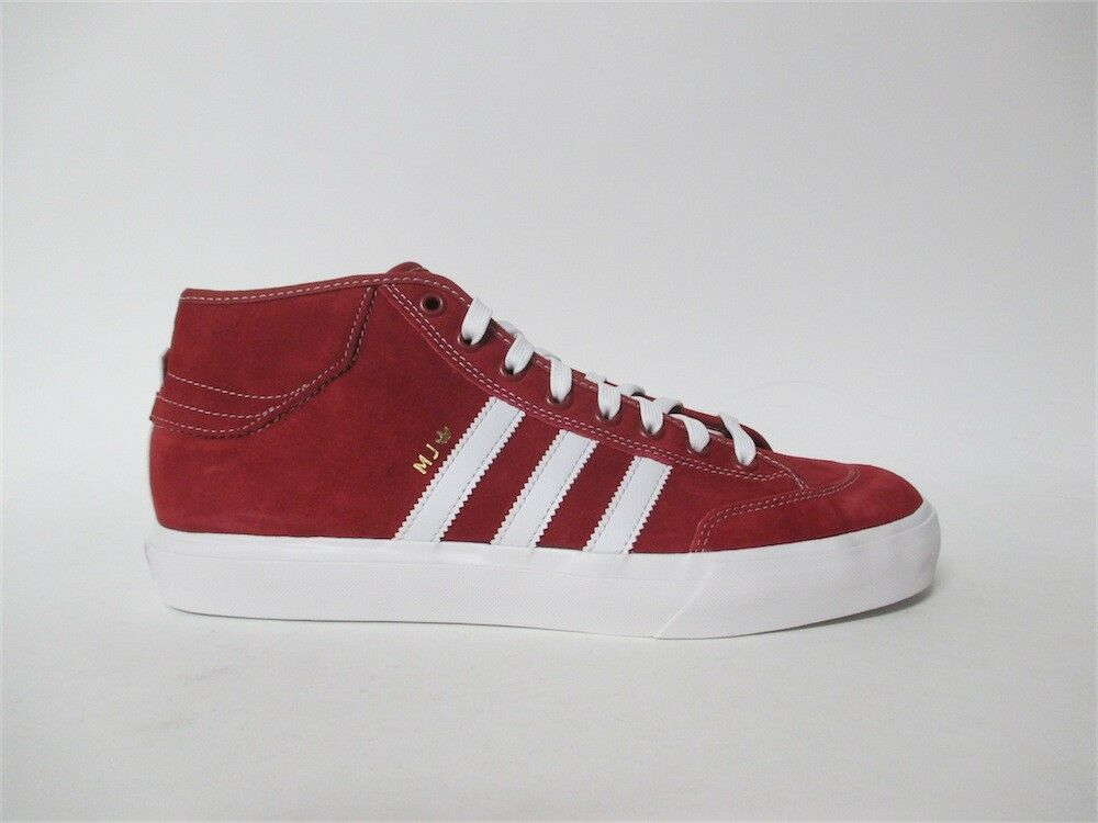 Adidas Matchcourt Mid MJ Marc Johnson Red White Sz 9.5 CG5670