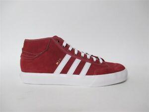 buy popular ea5ba b9e8c Image is loading Adidas-Matchcourt-Mid-MJ-Marc-Johnson-Red-White-
