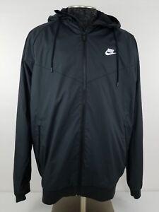 744a1856bd Image is loading Men-039-Nike-Tech-Windrunner-Windbreaker-Jacket-XL-