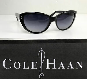 6227f4f6f5 Cole Haan Sunglasses  C1901 Black Plastic Frame with Smoke Gradient ...