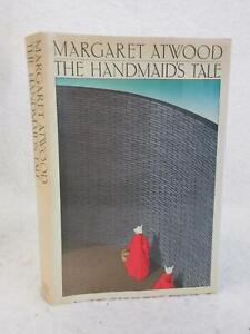 Margaret Atwood THE HANDMAID'S TALE 1986 Houghton Mifflin First Edition/Printing