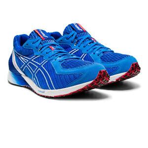 Asics-Homme-tartheredge-2-Chaussures-De-Course-Baskets-Sneakers-Bleu-Sport-Respirant