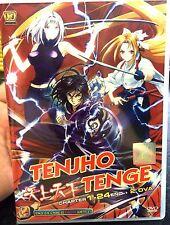 Tenjho Tenge (Chapter 1 - 24 End + 2 OVA) ~ DVD ~ English Subtitle ~ Japan Anime