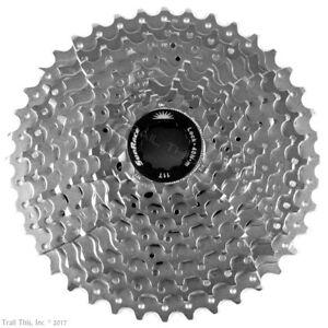 SunRace-CSMS3-11-40-11-42-1x10-Speed-MTB-Bike-Cassette-Silver-fits-Shimano-SRAM