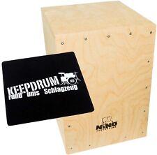 Meinl NINO951-MYO Cajon Bausatz für Kinder + KEEPDRUM Sitzpad CP-01