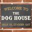 thumbnail 1 - THE DOG HOUSE Metal Signs Funny Pub Bar Wall Mancave Retro Plaque Tin Sign UK
